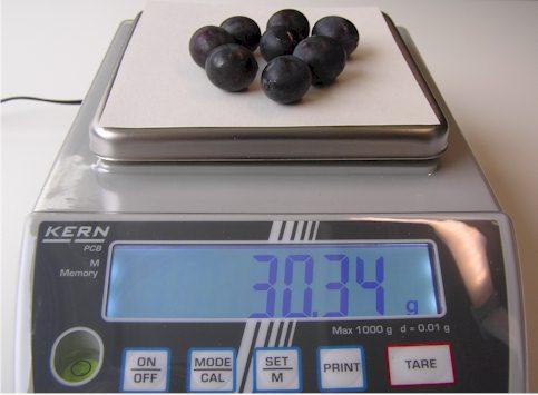 Fresh weight estimation Example